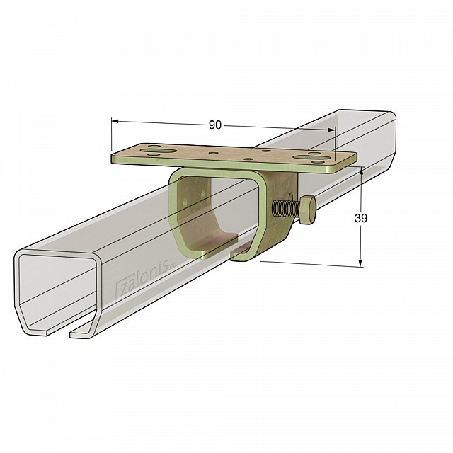 ROOF RAIL SUPPORT H21